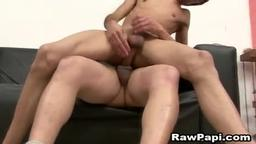 Latin Gay Hottest Bareback Scene