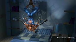 Homem aranha comendo Mary Jane peituda