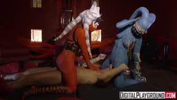 Star Wars putas - Paródia pornô