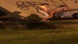Casal fodendo no viaduto de Uberlândia-MG caiu na net