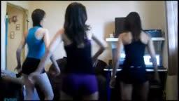 Amadoras do Funk dando um show na webcam