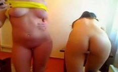Novinhas na webcam mostrando tudo