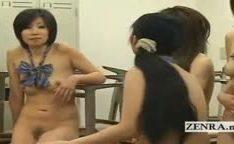 Estudantes Japoneses em orgia de sexo oral