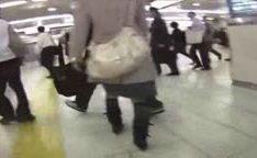 Jovem abusada e molestadas no trem