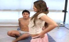 Ninfeta Latina com talento pra filmes porno