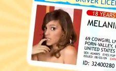 Primeira sessão de pornô da garota com 18 anos de idade