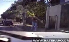Brasileira amadora trepando no Parque Tingui