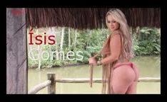 Isis Gomes gostosa bunduda ensaio pra revista Sexy
