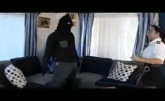 Ladrao fodeu policial peituda gostosa em video putaria