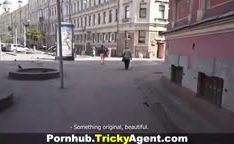 Novinha por um agente do porno