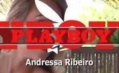 Ensaio nu de Playboy com Andressa Ribeiro