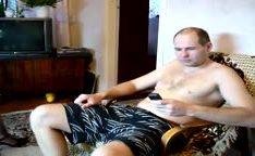 Esposa loira puta em vídeo caseiro pornô com marido