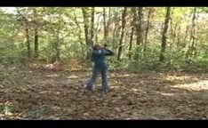 Professor na floresta pegando com força uma gostosinha