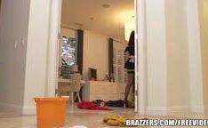 Empregada domestica do porno sexy Eva Karera