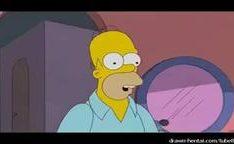 Simpsons com Home comendo Magge com prazer