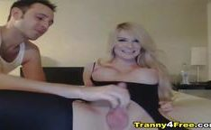 Tranny Gets her Ass Fucked
