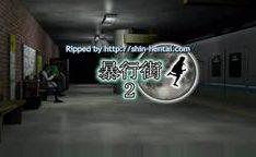Novinha estuprada na estação de metrô 3D