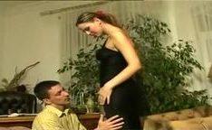Sexo anal com ninfeta