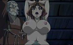 Velho estuprando novinha hentai