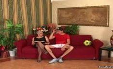 A vovó ama um pau grande pra fazer video putaria