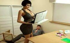 Bela peituda 3D