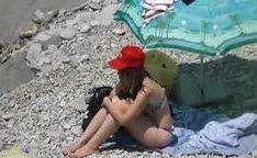 Casal transa em praia caiu na net