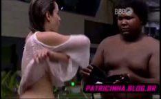 BBB16 Ana Paula bêbada mostra à buceta
