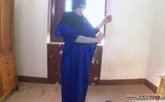 Garota árabe transando de véu caiu na net