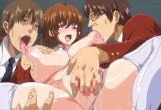Colegiais adoram estupro na escola hentai