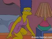 Marge Simpson e Lois Griffin às lésbicas