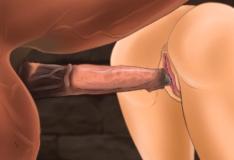Cavalo comendo buceta zoofilia hentai